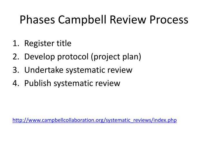 Phases Campbell