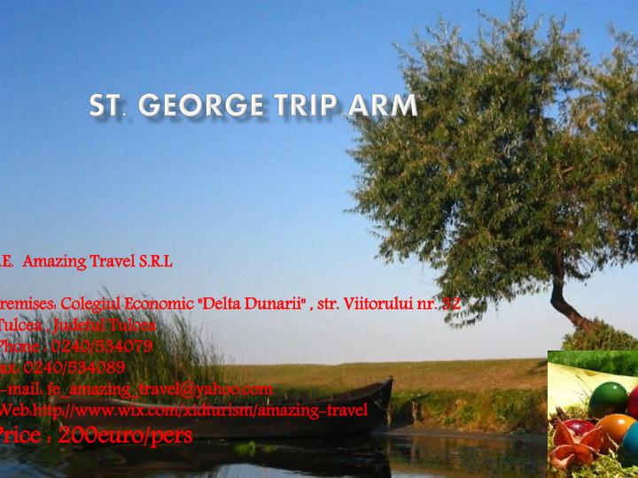 St george trip arm