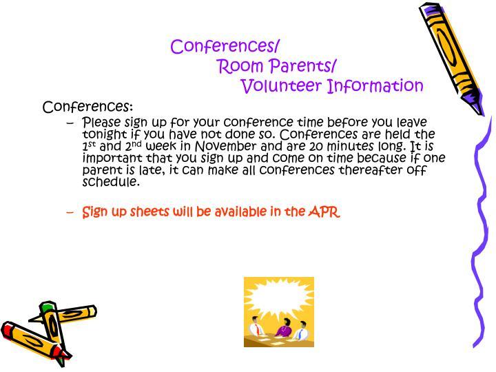 Conferences/