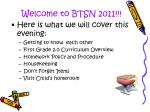 welcome to btsn 2011