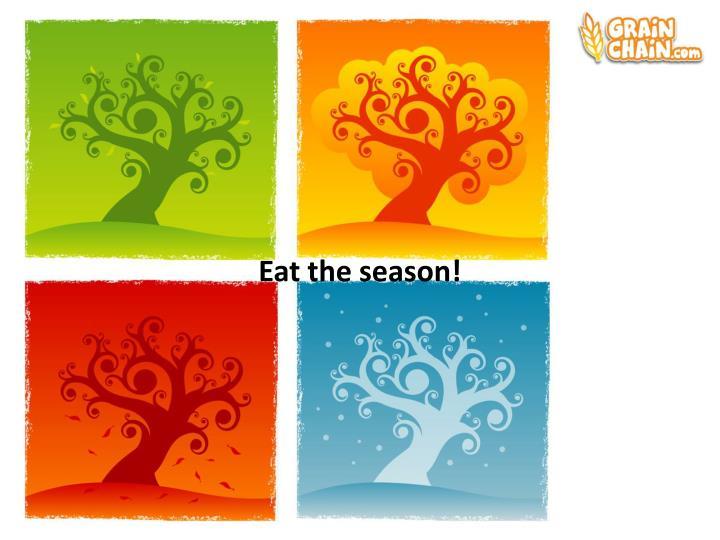 Eat the season!