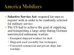 america mobilizes