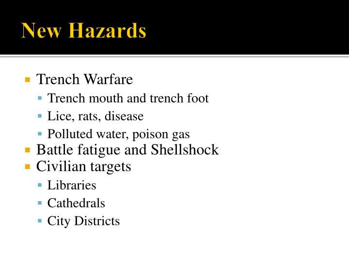 New Hazards