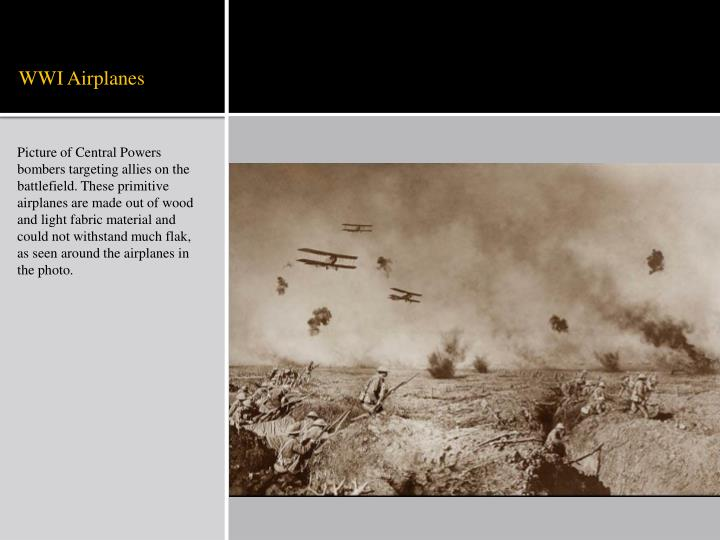 WWI Airplanes