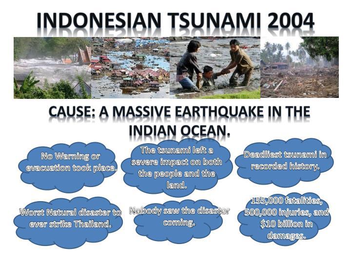 Indonesian Tsunami 2004