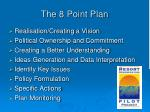 the 8 point plan