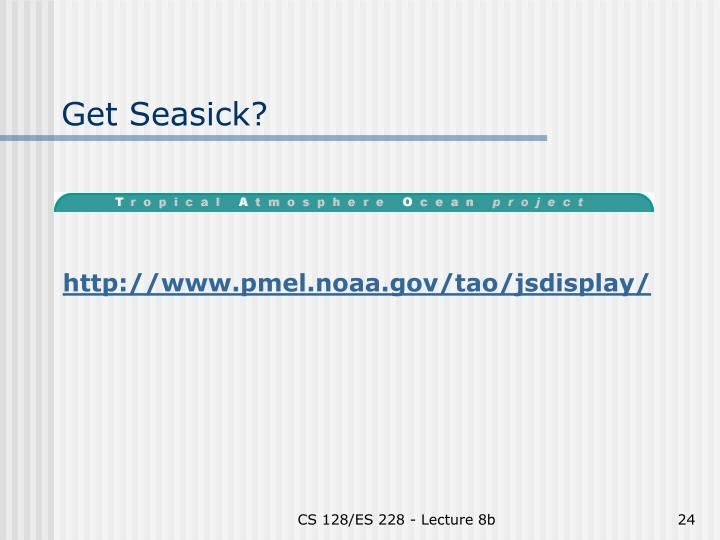 Get Seasick?