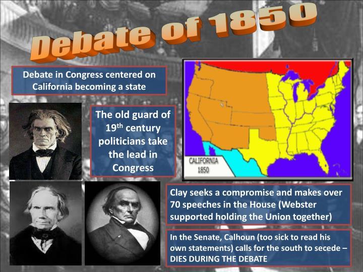 Debate of 1850