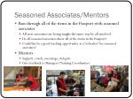 seasoned associates mentors