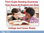 goal ensure all students can read