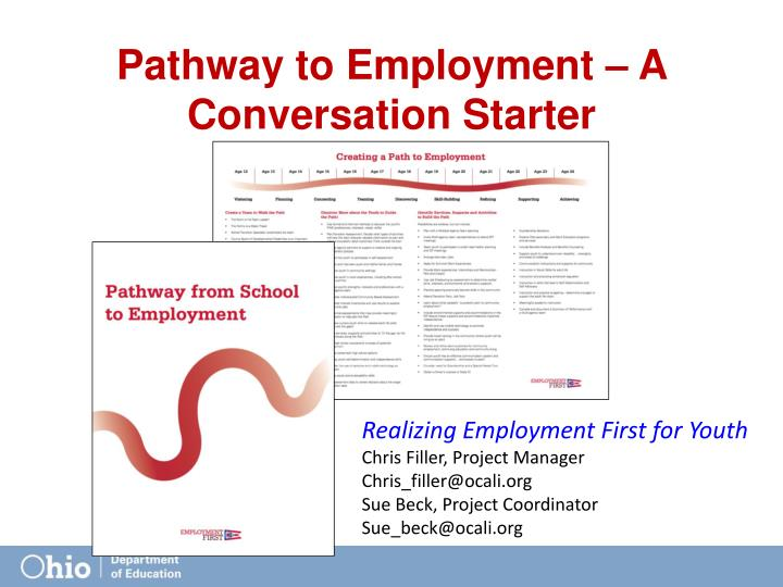 Pathway to Employment – A