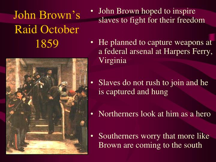 John Brown's Raid October 1859