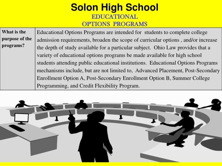 Solon High School