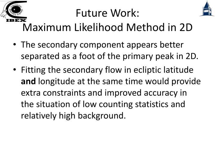Future Work: