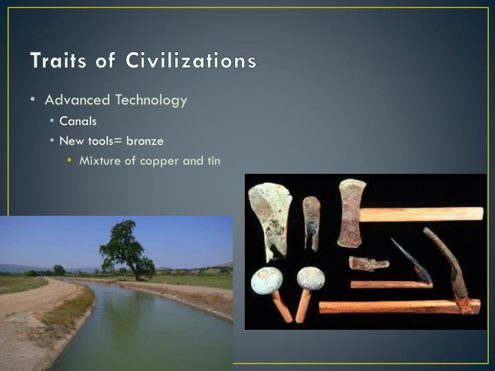 Traits of Civilizations