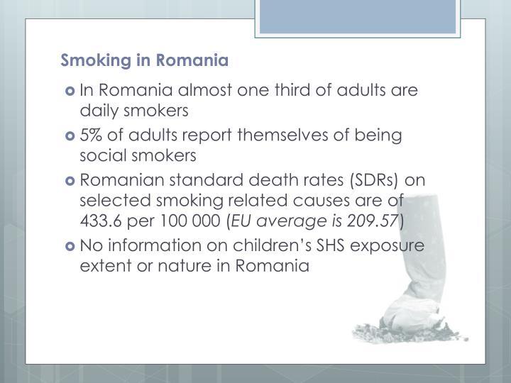 Smoking in Romania