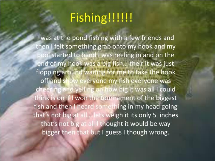 Fishing!!!!!!