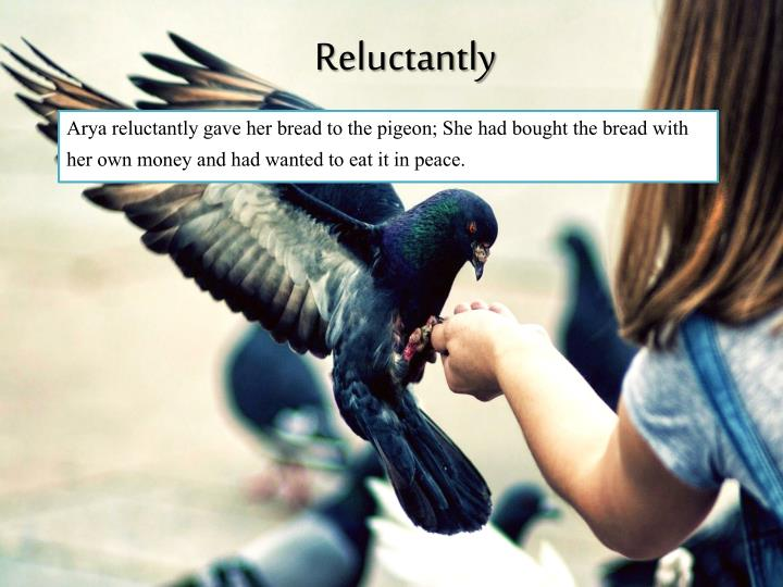Reluctantly
