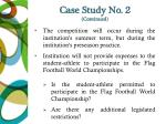 case study no 2 continued