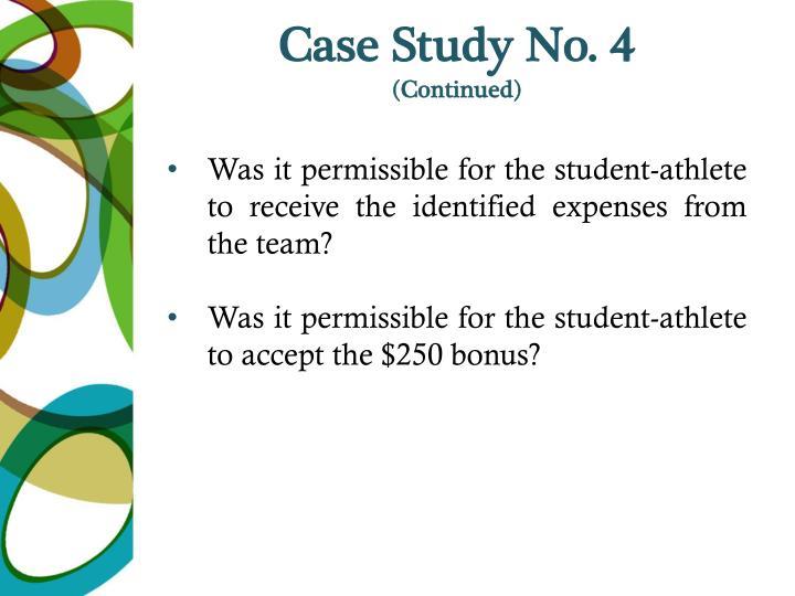 Case Study No. 4