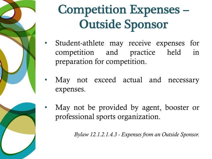 Competition Expenses –