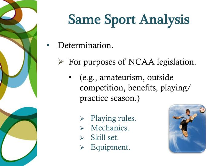Same Sport Analysis