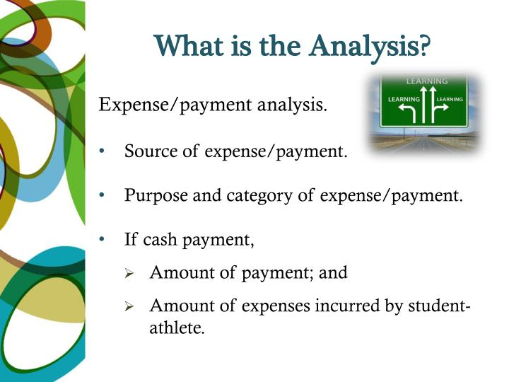 What is the Analysis?