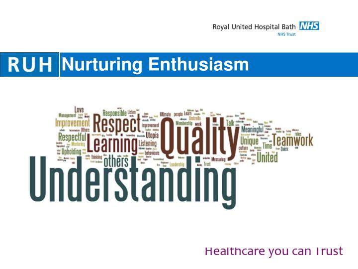 Nurturing Enthusiasm