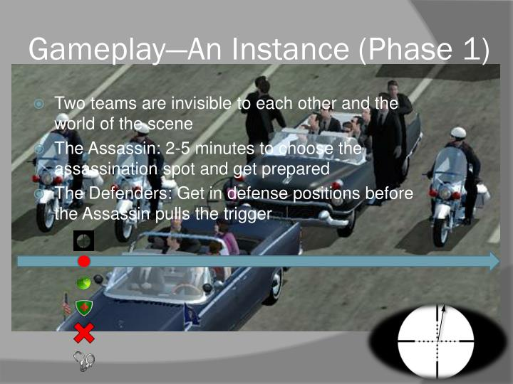 Gameplay—An Instance (Phase 1)