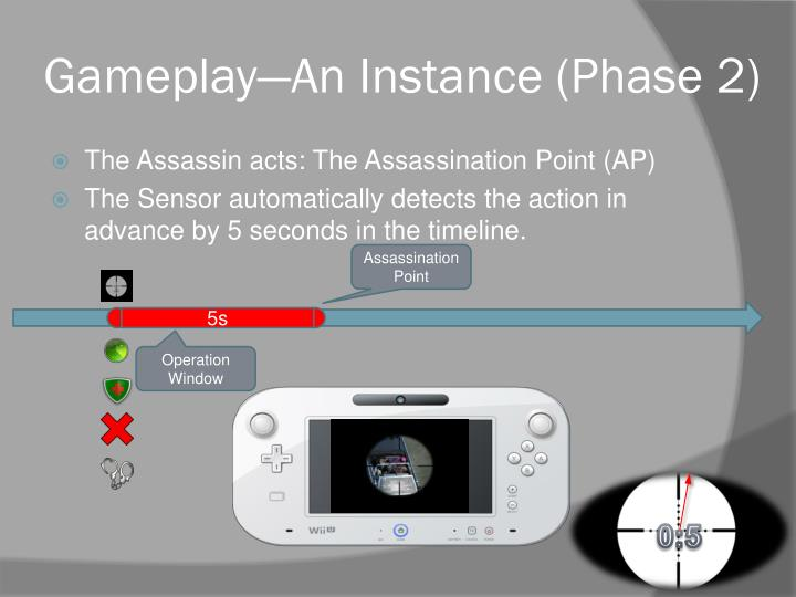 Gameplay—An Instance (Phase 2)