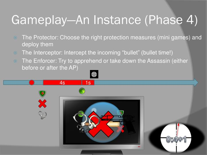 Gameplay—An Instance (Phase 4)