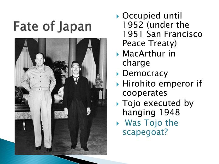 Fate of Japan