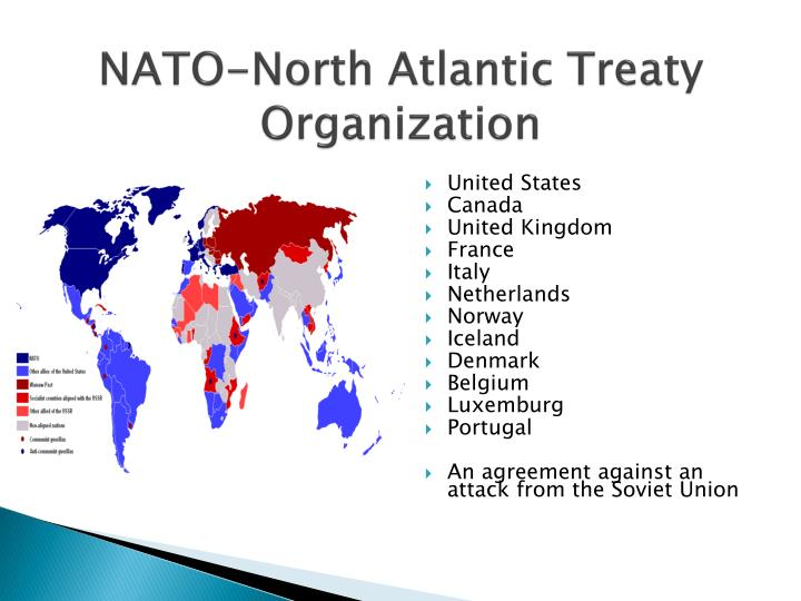 a comparison of the united nations and the north atlantic treaty organization What's trump's position on nato  of the north atlantic treaty organization,  it spends compared with other nations blitzer: do you think the united states needs to rethink u .