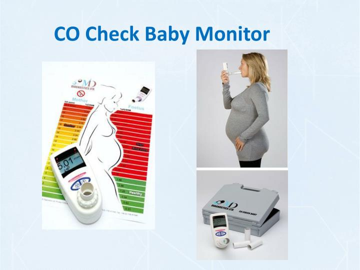 CO Check Baby Monitor