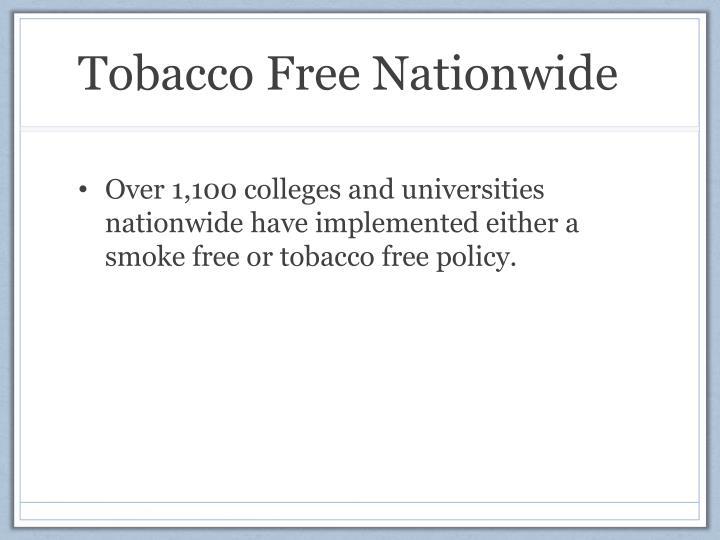 Tobacco Free Nationwide
