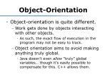 object orientation2