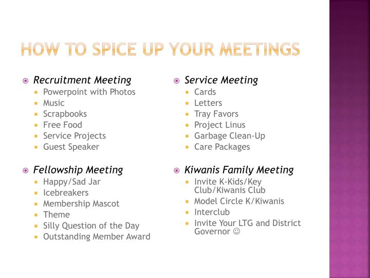 How To Spice UP Your Meetings