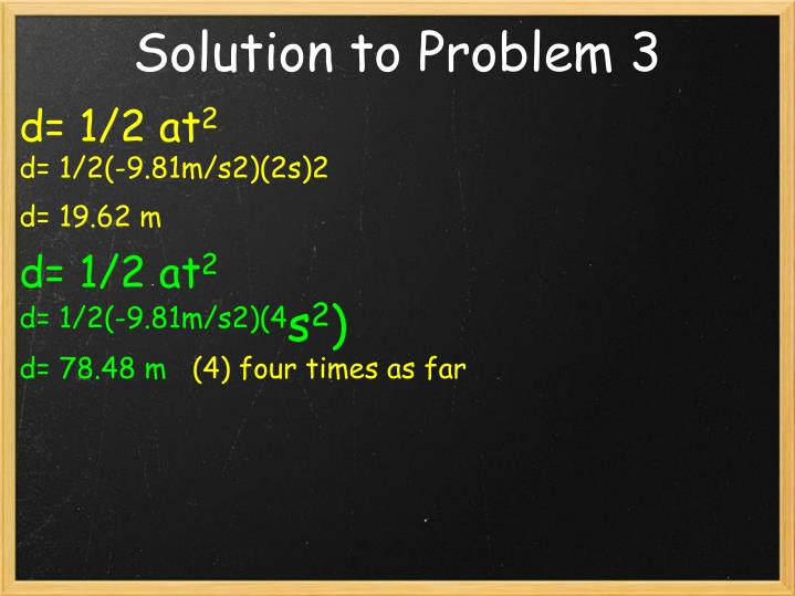 Solution to Problem 3