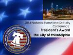 2014 national homeland security conference president s award4