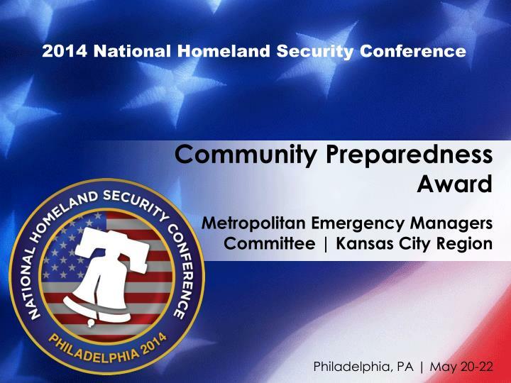 2014 National Homeland Security