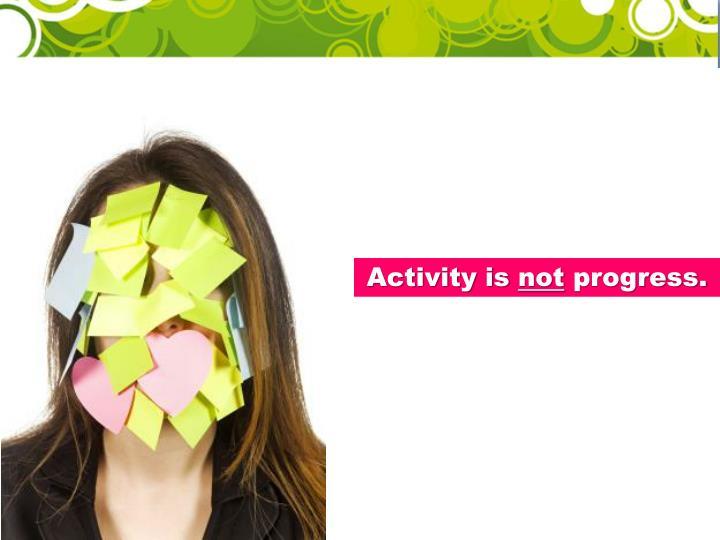 Activity is