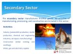secondary sector