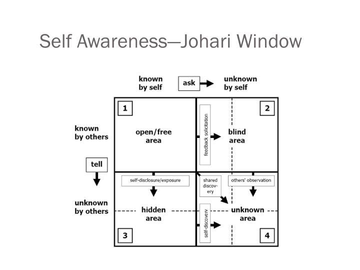 Self Awareness—