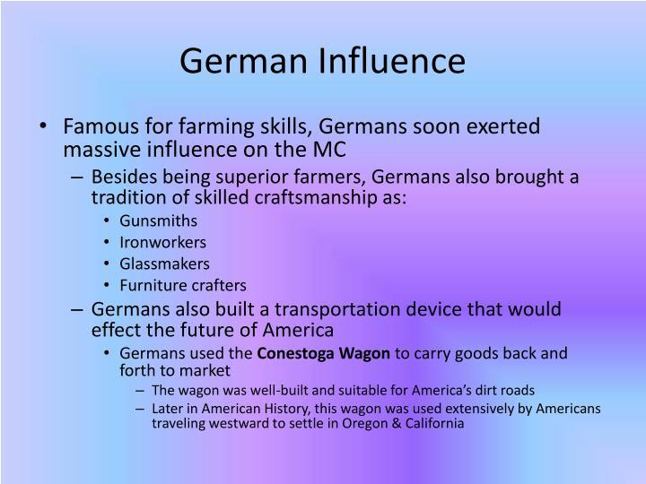 German Influence