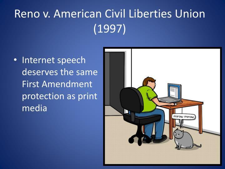 Reno v. American Civil Liberties Union (1997)