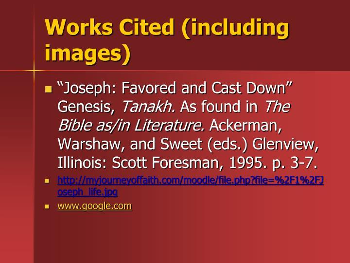 Works Cited (including images)