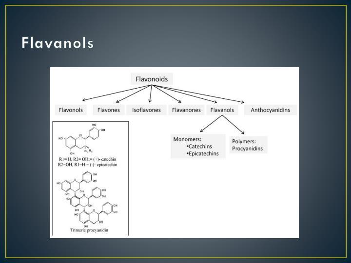 Flavanols