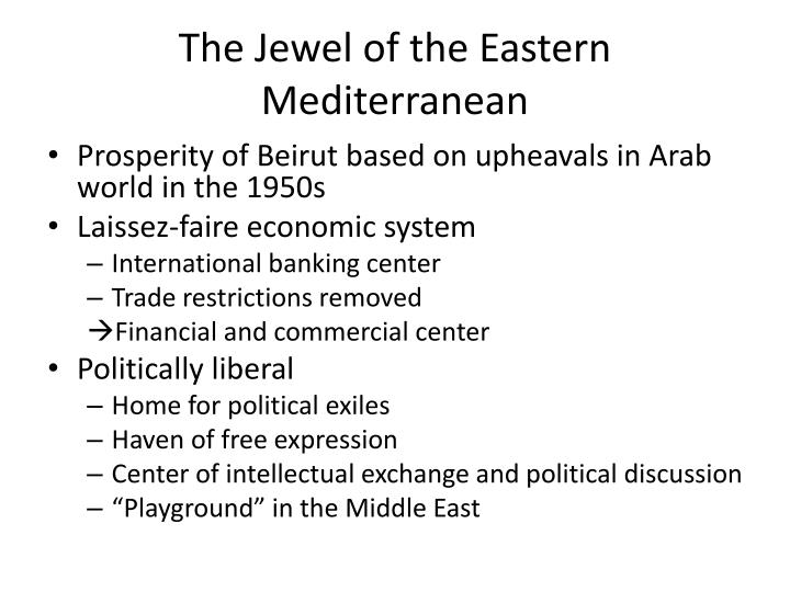The jewel of the eastern mediterranean