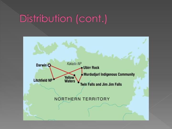 Distribution (cont.)