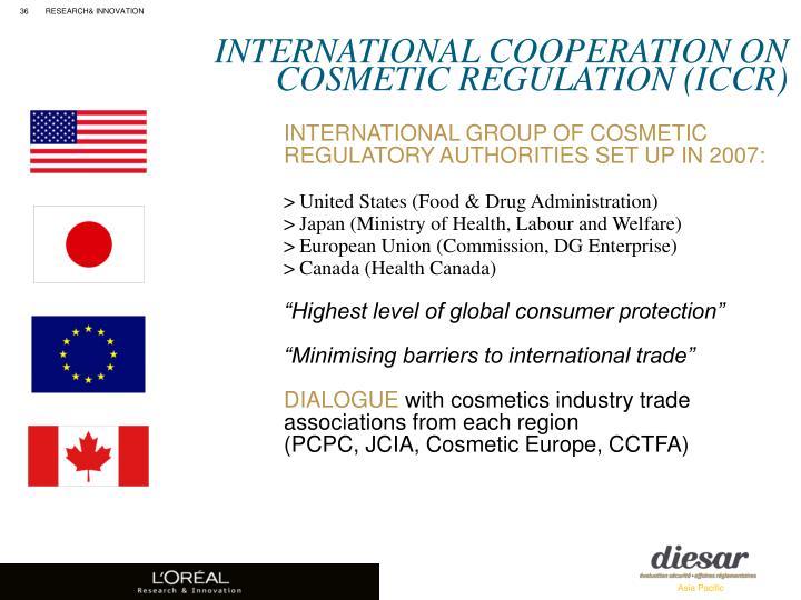 INTERNATIONAL COOPERATION ON